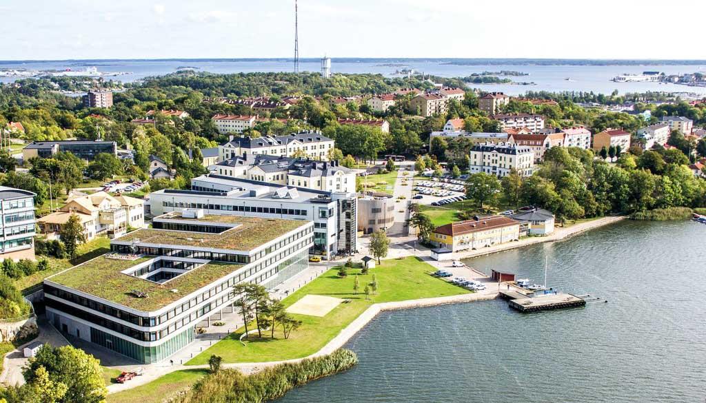 Le campus universitaire - Campus Gräsvik
